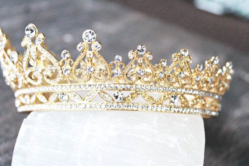 GRACE MANCHESTER Full Bridal Crown