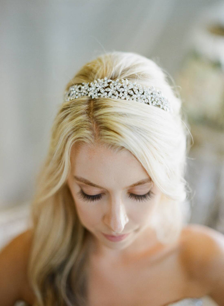 LINA Gold Crystal Headband