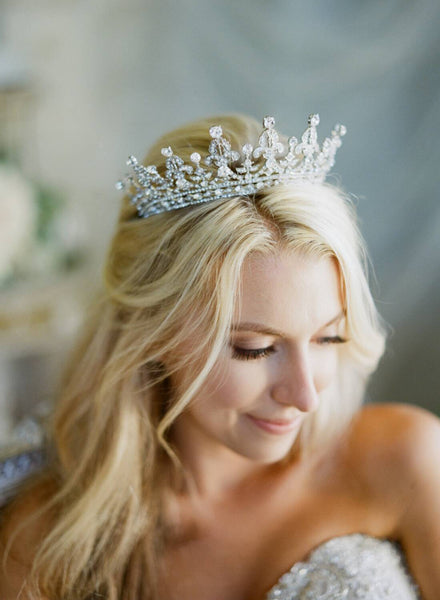 QUEEN VICTORIA Swarovski Crystal Royal Bridal Tiara
