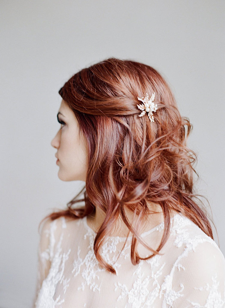 ADELIA Rose Gold Hair Clip