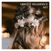 ODETTE Floral Headpiece