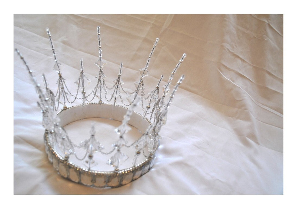 Bespoke MARDI GRAS Snow Queen Crown Payment 1 of 2 for CA