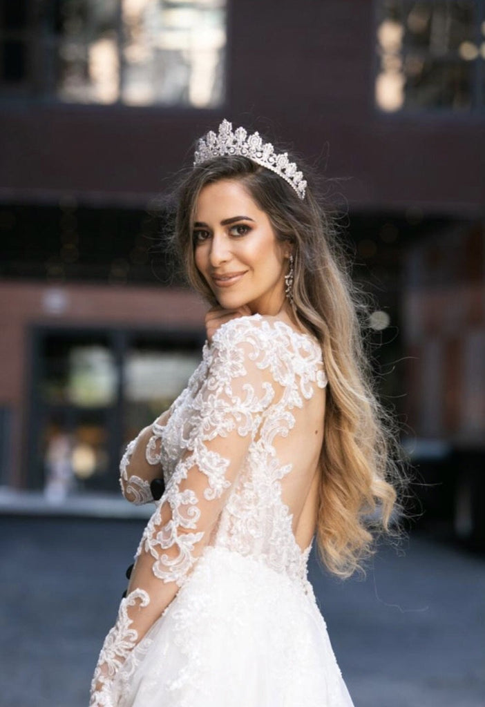 Petite PERSEPHONE Royal Bridal Crown PAREUR SUITE