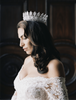 RACHEL Full Simulated Diamond Royal Bridal Crown