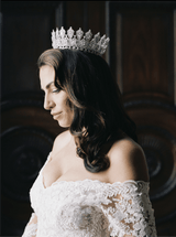 RACHEL Simulated Diamond Royal Bridal Full Crown