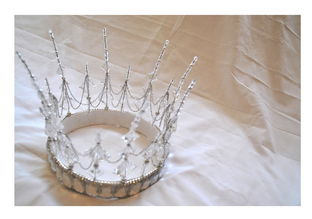 Bespoke MARDI GRAS Snow Queen Crown Payment 2 of 2 for CA
