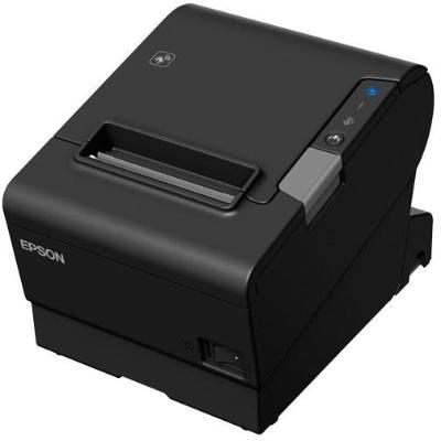 TM-T88VI serial, USB, Ethernet, PS & AC, black thermal receipt printer