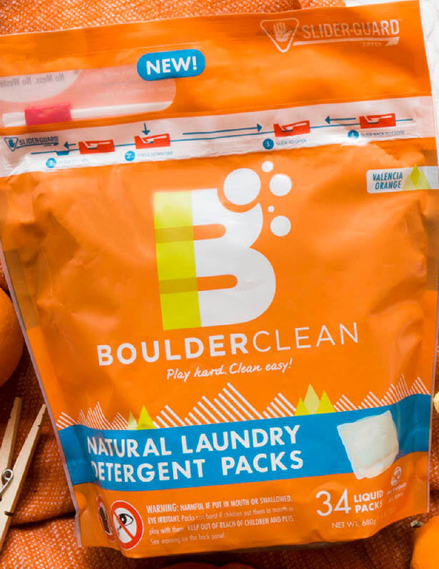 Boulder Clean Chooses Child-Resistant Packaging for Laundry Packs