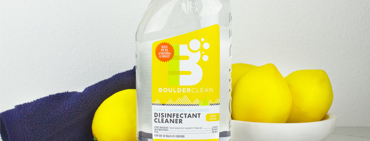 Boulder Clean Launches Household Disinfectant Cleaner