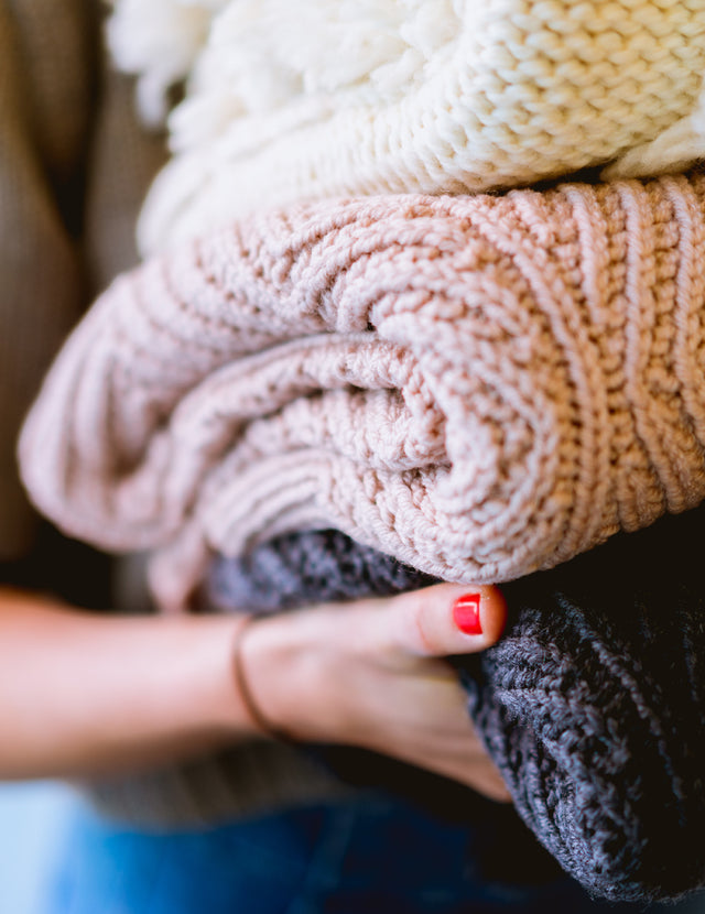 Best Practices for Machine Washing Knits + Sweaters