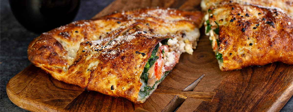 Ricotta and Basil Calzone
