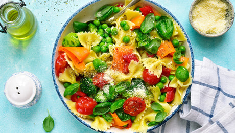 Pasta Primavera with Fresh Spring Vegetables