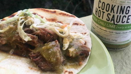 Green Chili Lime Street Tacos