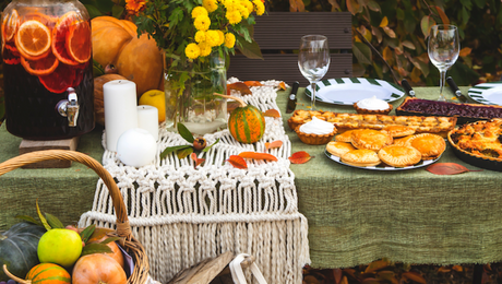 How To Host Thanksgiving Outdoors