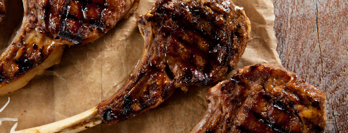 Spicy BBQ Lamb Chops