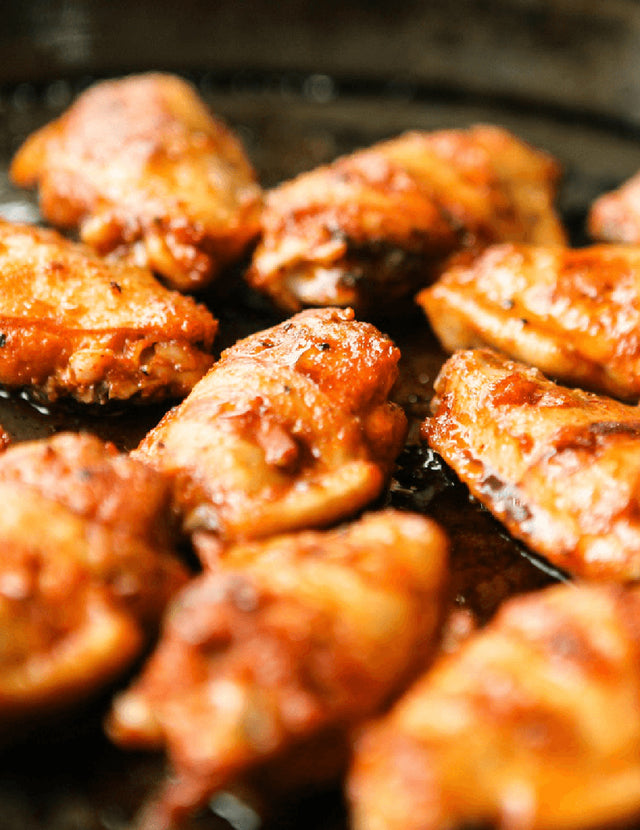 Sweet Heat Grilled Wings