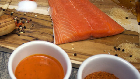 Sweet Heat Glazed Salmon