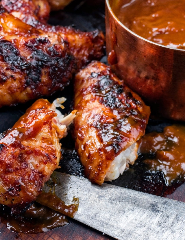 Signature Gourmet BBQ Wings
