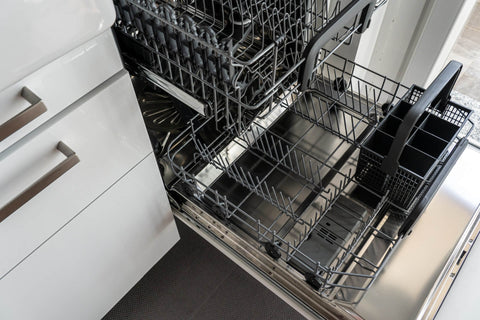 Opened Dishwasher