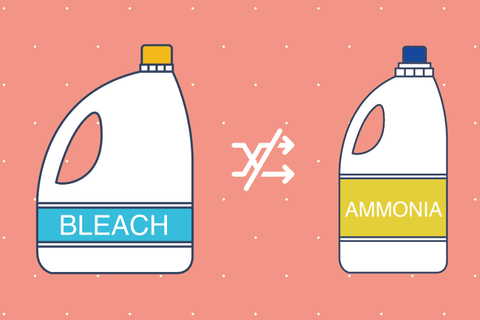 Don't Mix These Household Cleaners