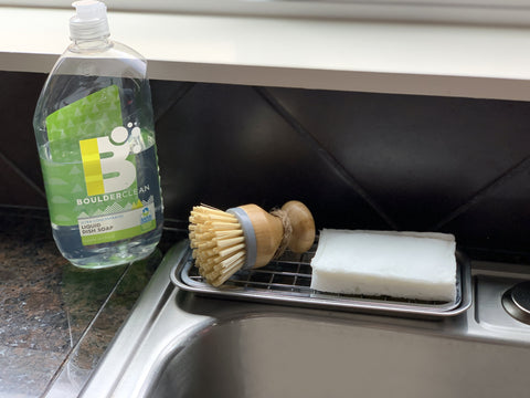 Boulder Clean Soap and Dish Sponge