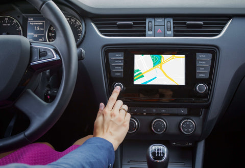 High Touch Surfaces in the Car