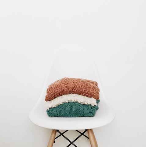 Stack of Sweater or Knits