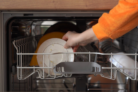 Stacking Dishes in Dishwasher