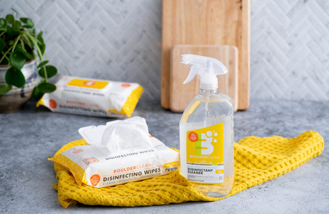 Boulder Clean Disinfecting Wipes and Spray