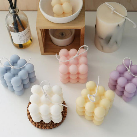 Assorted Cube Candles