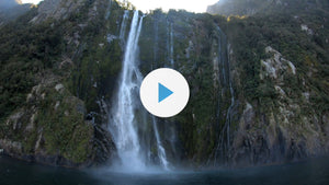 Sail UNDER a Fiordland waterfall with me!