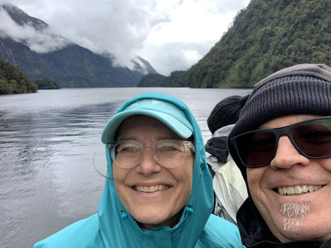 Doubtful Sound in the background