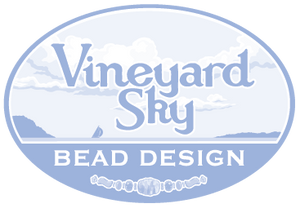 Vineyard Sky Bead Design 1 color logo