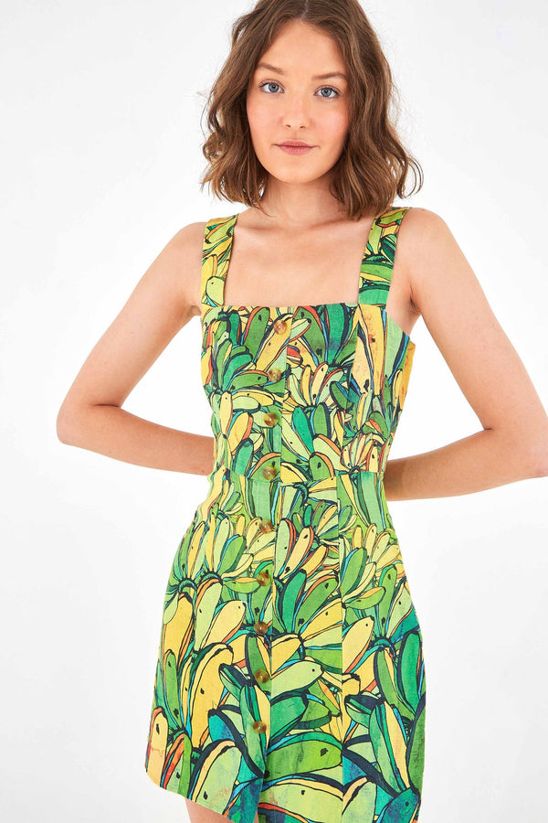 Vestido Mini GREEN BANANA