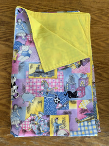 Lightweight Lap Blanket - Child's Dolls and Toys