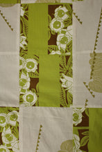 Load image into Gallery viewer, Adult Personal Blanket - Sig Zane Fabric, Green Pilikai Keauhou + White ʻAwalani