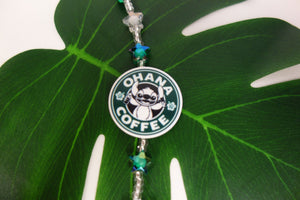"10"" Star Leashie: Stitch, Ohana Coffee"