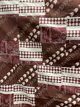 Load image into Gallery viewer, Adult Personal Blanket - Sig Zane, Brown + Maroon `Awalani