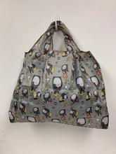 Load image into Gallery viewer, Reusable + Foldable Tote Bag - Gray, Totoro