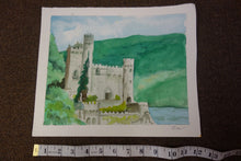 Load image into Gallery viewer, Watercolor Painting - Castle