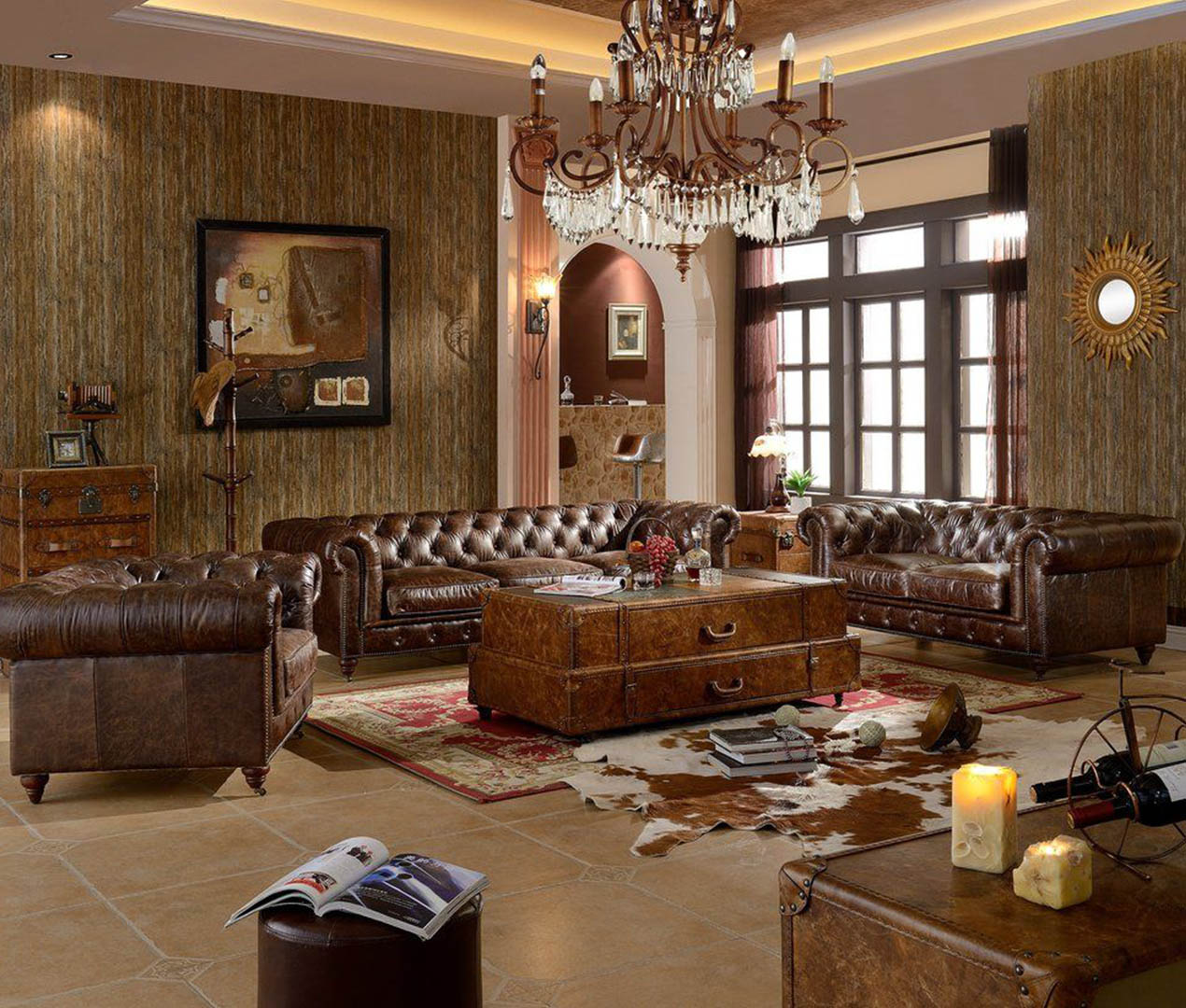 Interior Design Ideas With Leather! Design Your Perfect Home