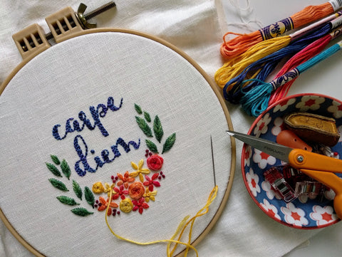 Modern Embroidery Online Classes For Beginners