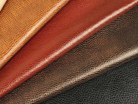 Selecting leather for artisans