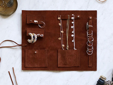 DIY Leather Jewelry Roller