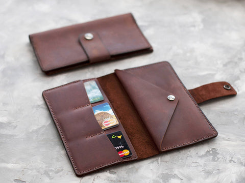 Leather wallet project