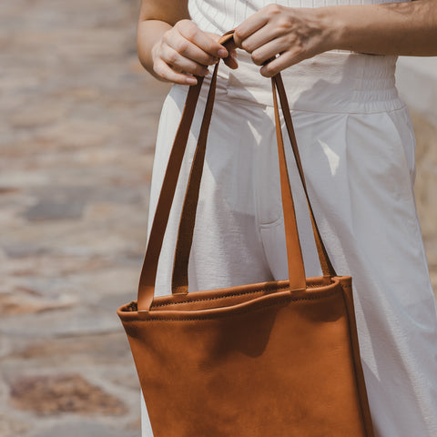 Leather DIY Market Bags