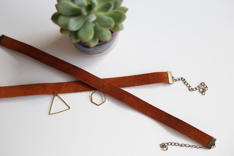 DIY Leather Necklace