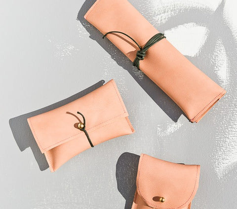 DIY Leather Pouches (3 Way)