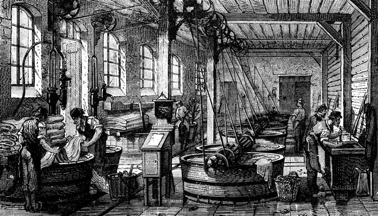 ancient leathermaking process and the origins of leather crafting