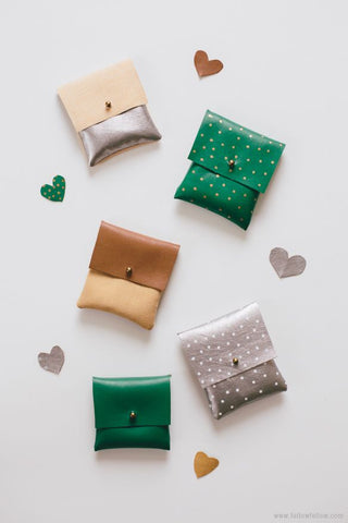 diy leather pouch gifts